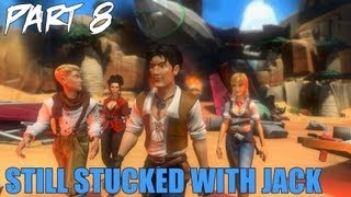 "Jack Keane 2 The Fire Within Walkthrough Part 8 ""Still Stucked With Jack"" Gameplay Playthrough PC"