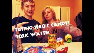 Trying 1980's Candy! | THE SOUREST CANDY IN THE WORLD! 😱| CK Vlogs