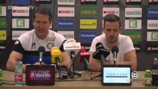 SK Sturm: Mediabriefing vor SV Grödig (29. Runde 2015/16)