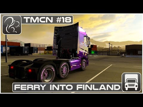 Ferry into Finland - TMCN #18 (Renault Range T)