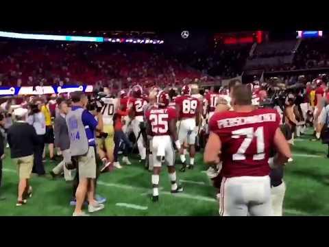 Listen to Rammer Jammer after Alabama beats Florida State