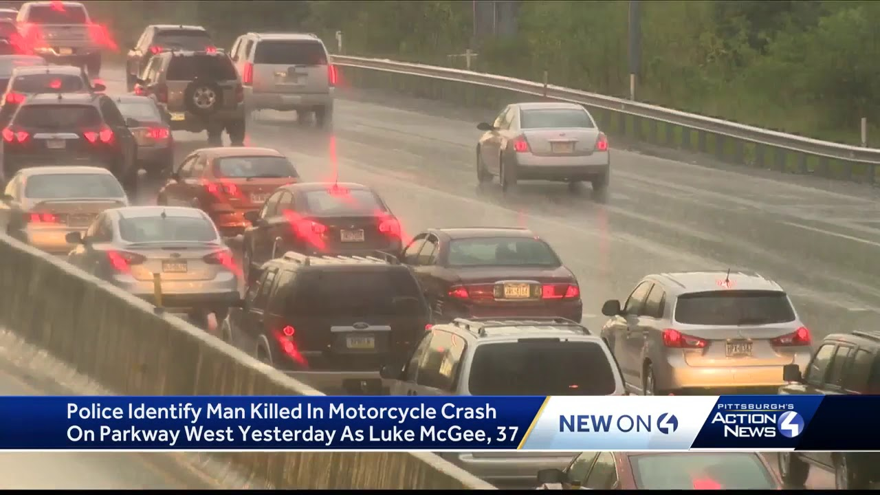 Fatal motorcycle crash on I-376 in Rosslyn Farms