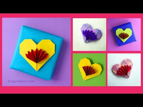 Cute and Easy Origami Heart - Francis Ow
