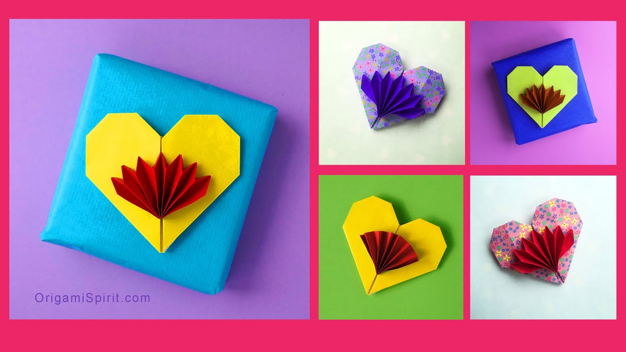 Cute and Easy Origami Heart - Francis Ow - YouTube - photo#27
