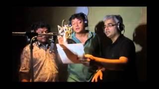 Bengali Comedy Fim Mon Churi Song Recording