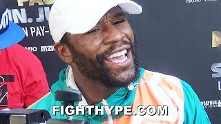 """FLOYD MAYWEATHER RESPONDS TO CANELO SAYING HE'D BEAT HIM IN PRIME; REMINDS ABOUT """"OLD MAN"""" BEATING"""
