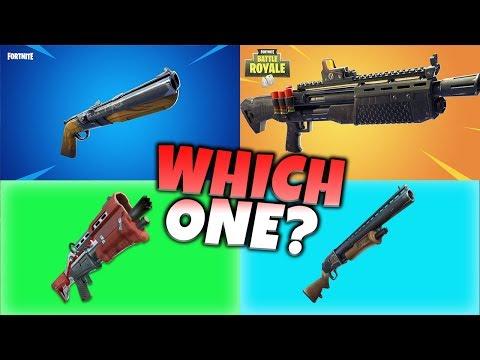 Fortnite Shotgun Rankings | Which One To Choose