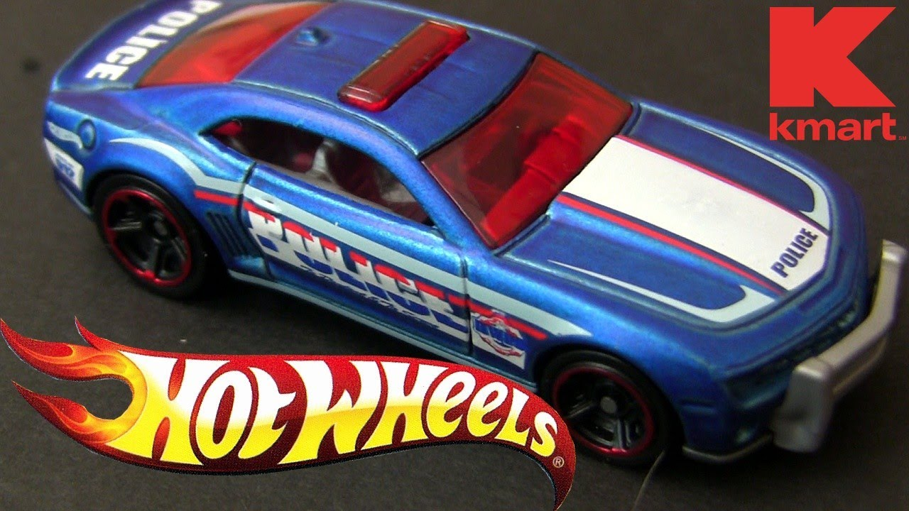 2010 Hot Wheels Camaro Ss Police Hw Kmart Collectors Event