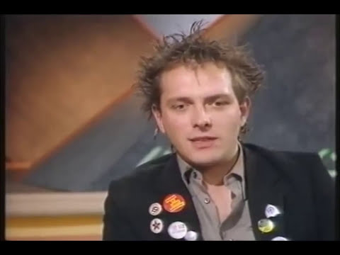 Rik Mayall 1984 The Wogan Show Full Standup and Interview