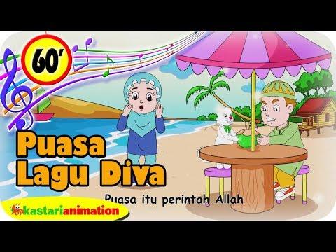 Lagu Islami Diva 1 Jam Kompilasi Puasa Ramadhan 2019   Kastari Animation Official