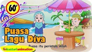 Lagu Islami Diva 1 Jam Kompilasi Puasa Ramadhan 2019 | Kastari Animation Official