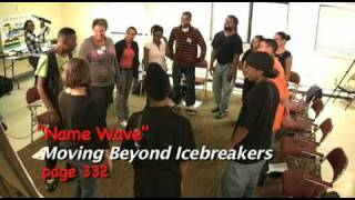 Team Building Icebreakers Activity - Name Wave