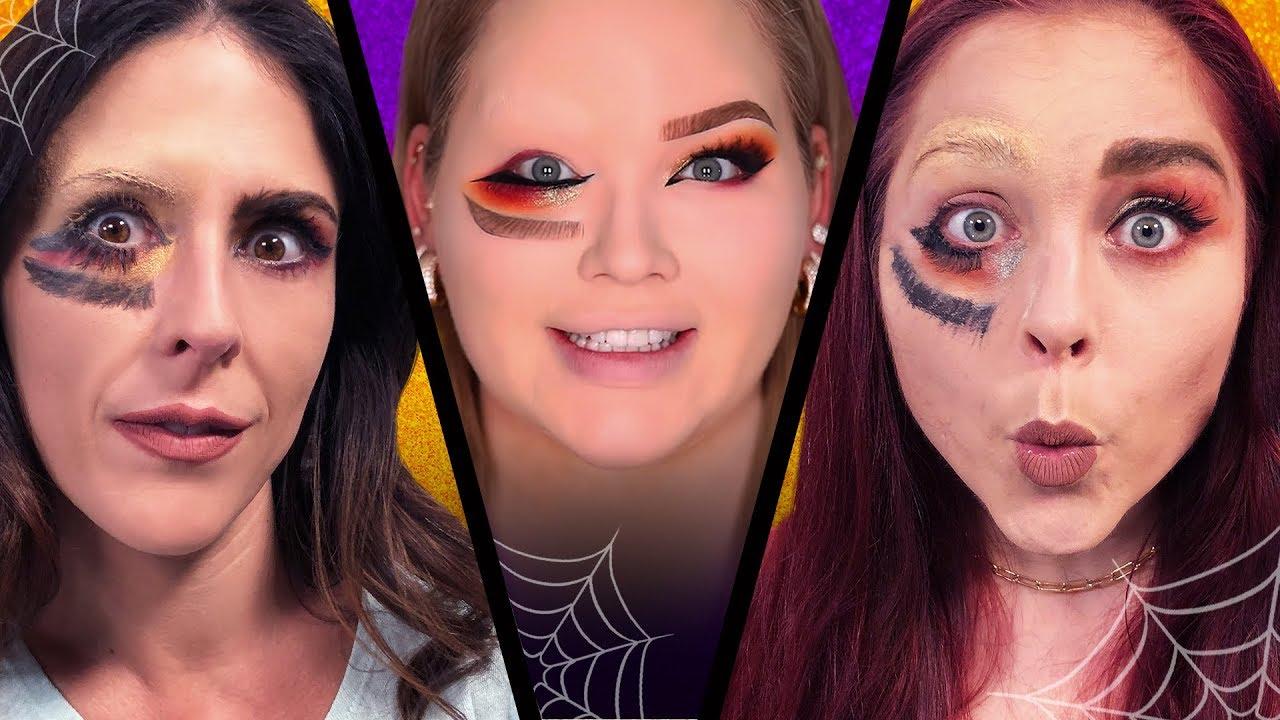 We Tried Following a NikkieTutorials Halloween Makeup Tutorial (Beauty Break)