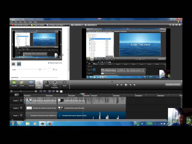 Camtasia for Teachers