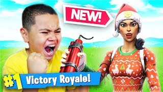 *NEW* INSANE DYNAMITE & Wild West Mode Gameplay In Fortnite Battle Royale! 10 YEAR OLD! 15 KILLS!