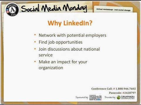 Social Media Monday: How to use LinkedIn for Your Service and Your Career