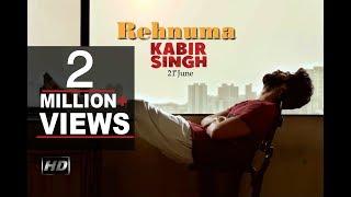 Kabir Singh Song | Rehnuma | Shahid Kapoor | Kiara advani | S.R VIDEO