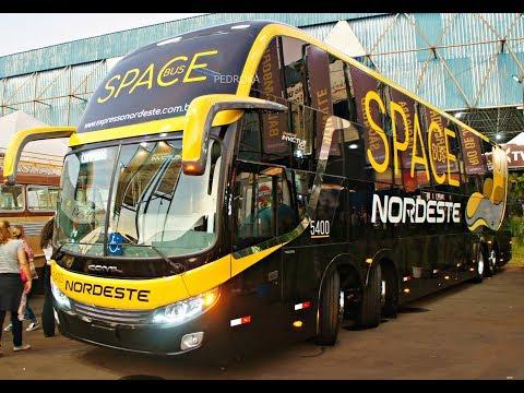 [Conferindo]Space Bus serviço LEITO da Expresso Nordeste DD Invictus 15 Metros