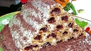 Торт Монастырская изба(Один из самых вкусных и красивых тортов! Ингредиенты: К тесту: 4 стакана муки 250 гр. сметаны 2 ст. ложки сахара..., 2015-11-22T12:02:34.000Z)