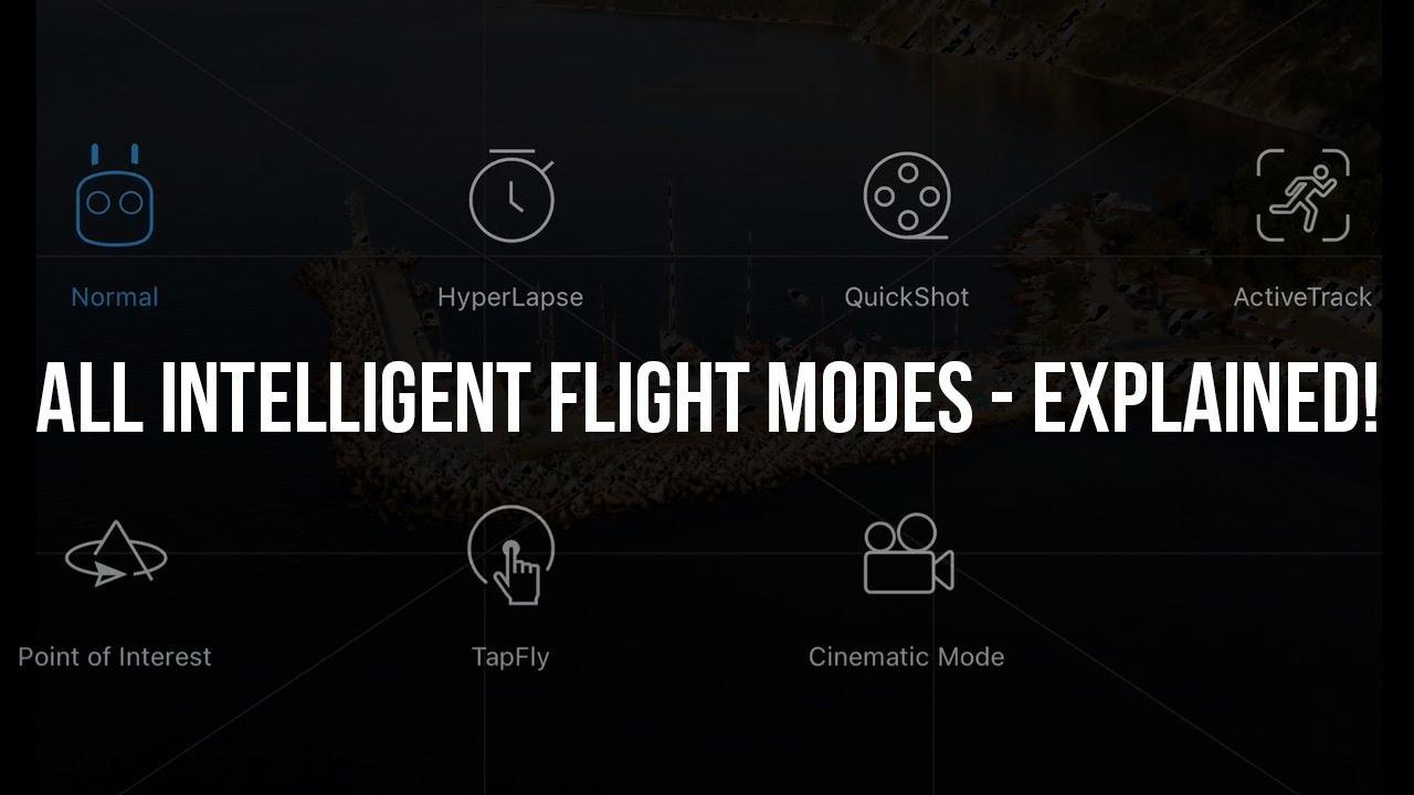 DJI MAVIC 2 PRO - ALL Intelligent Flight Modes - EXPLAINED!