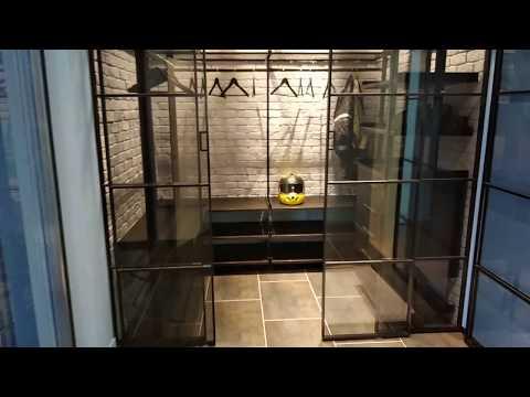 гардеробные системы лофт