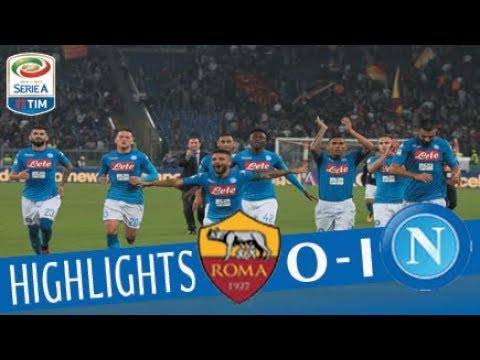 Roma - Napoli 0-1 - Highlights - Giornata 8 - Serie A TIM 2017/18