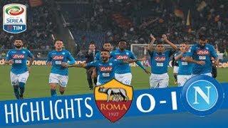 Roma - Napoli 0-1 - Highlights - Giornata 8 - Serie A TIM 2017/18
