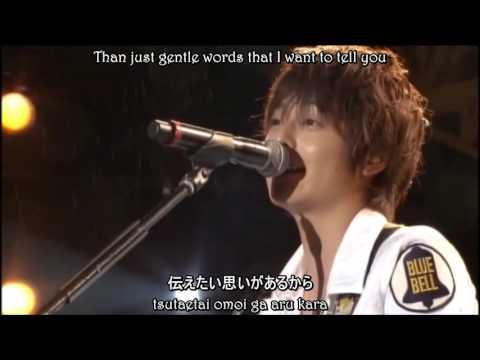 Koike Teppei - Kimi ni Okuru Uta Live [EngSub]