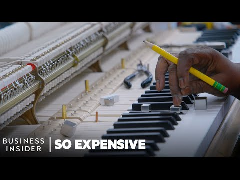 Why Steinway Grand Pianos Are So Expensive | So Expensive