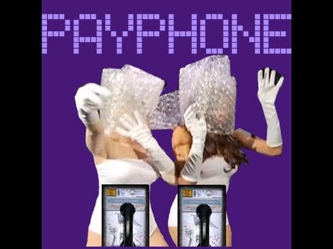 "LADY GAGA & BEYONCE PARODY: ""PAYPHONE"" KARAOKE VIDEO"