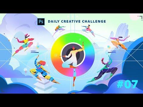 Photoshop Daily Creative Challenge #07 thumbnail