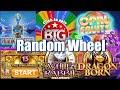 Big Time Gaming Random Slot Wheel + BIG Announcement + Community BIG WINS!!