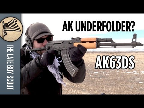 Should You Buy an AK Underfolder? Century AK63DS