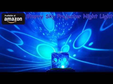 Starry Sky Projector Night Light For Kids AMAZON Review #AD