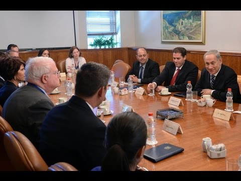 PM Netanyahu meets with Pro-Israeli delegation led by Congressman F. James Sensenbrenner