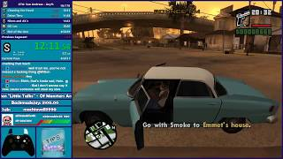 GTA San Andreas Any% Speedrun PB Attempt - Hugo_One Twitch Stream - 1/23/2018