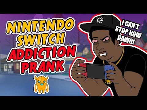 Asian Nintendo Switch Addiction Prank
