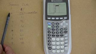 Making histograms, boxplots,and timeplots with a graphing calculator