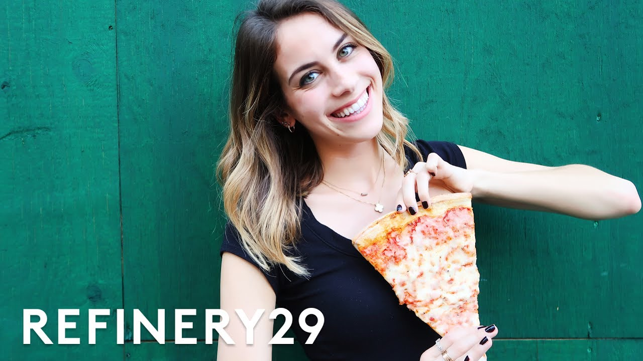 5 Days Of Only Eating Pizza | Try Living With Lucie ...