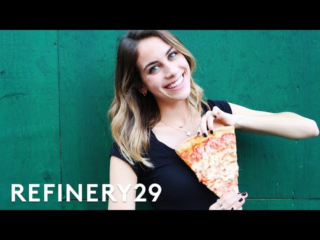 Lucie Fink Eats Pizza For 5 Whole Days! | Try Living With Lucie | Refinery29