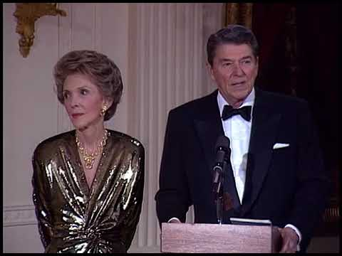 President Reagan's Remarks for the Kennedy Center Honorees on December 7, 1986