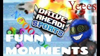 Drive Ahead SPORTS 2PLAYER Funny Momments