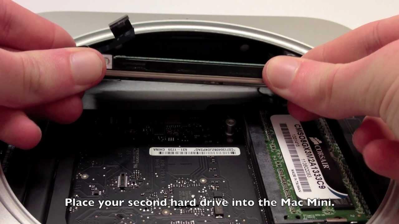 mac mini 2012 2nd hard drive