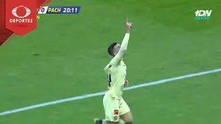 Gol de Benedetti | América 1 - 0 Pachuca | Copa Mx - Octavos - Cl 19 | Televisa Deportes