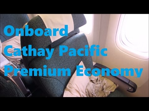 Cathay Pacific | 777-300ER in Premium Economy Vancouver to New York YVR-JFK