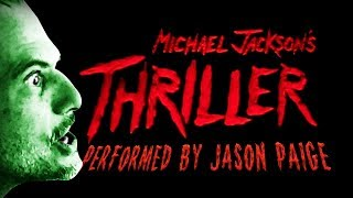 Michael Jackson's - Thriller - Sound Alike Performed by Jason Paige in Studio