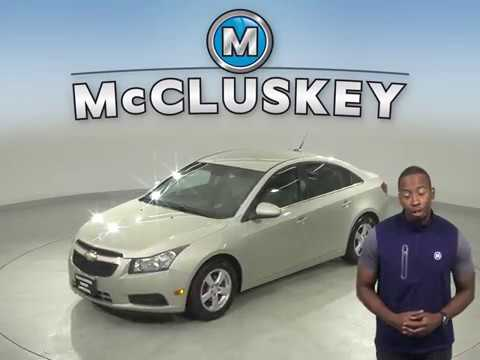 A13538YT Used 2013 Chevrolet Cruze 1LT FWD 4D Sedan Gold Test Drive, Review, For Sale -