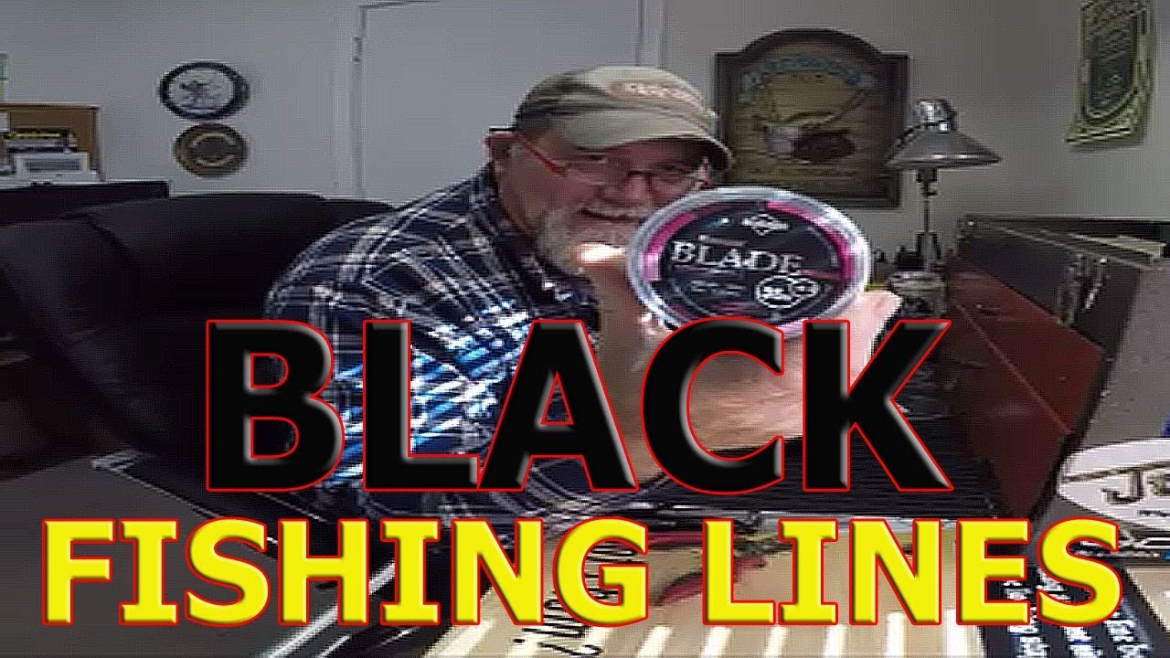 Black Fishing Line China Braid Amp Nylon Leader Test Youtube