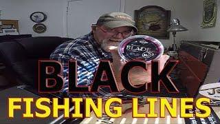 BLACK FISHING LINE? China Braid & Nylon Leader / TEST