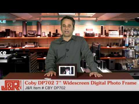 """coby-dp702-7""""-widescreen-digital-photo-frame-with-multimedia-playback---jr.com"""
